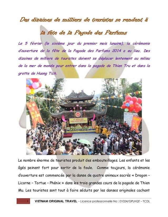 Des dizaines de milliers de touristes se rendent à la fête de la Pagode des Parfums Le 5 février (le sixième jour du premi...