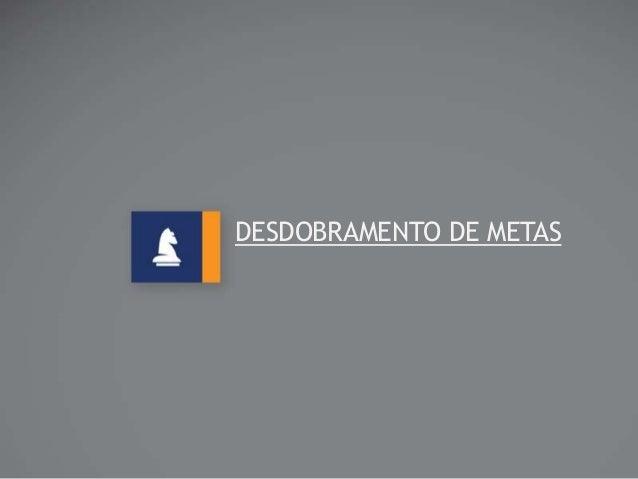 DESDOBRAMENTO DE METAS