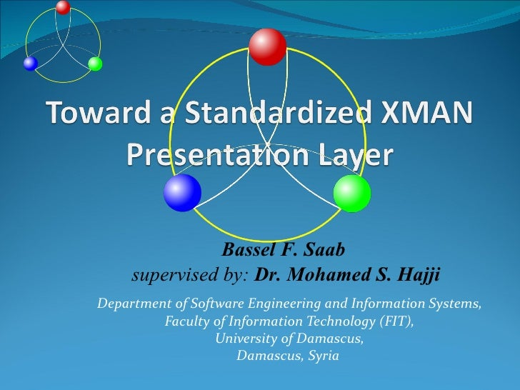 Bassel F. Saab     supervised by: Dr. Mohamed S. HajjiDepartment of Software Engineering and Information Systems,         ...