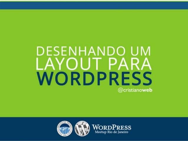 • Sou designer web freelancer em tempo integral há mais de 6 anos; • Trabalho na criação de sites exclusivos com WordPress...