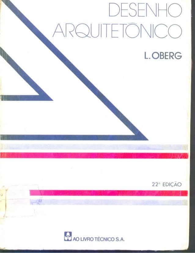Desenho arquitetônico   l. oberg