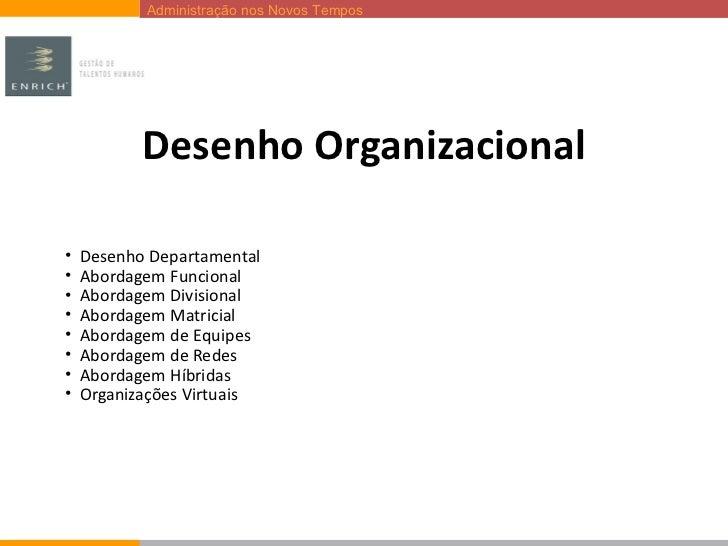 Desenho Organizacional <ul><li>Desenho Departamental </li></ul><ul><li>Abordagem Funcional </li></ul><ul><li>Abordagem Div...