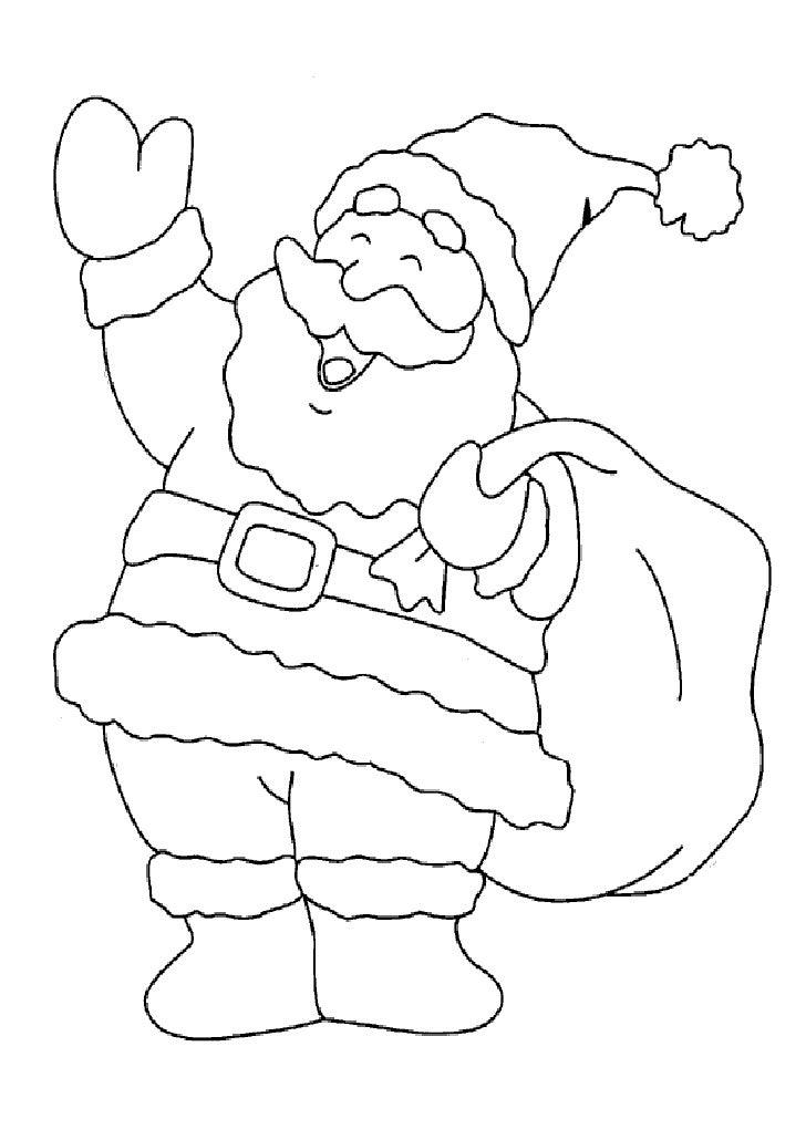 Desenhos De Natal Colorir Word