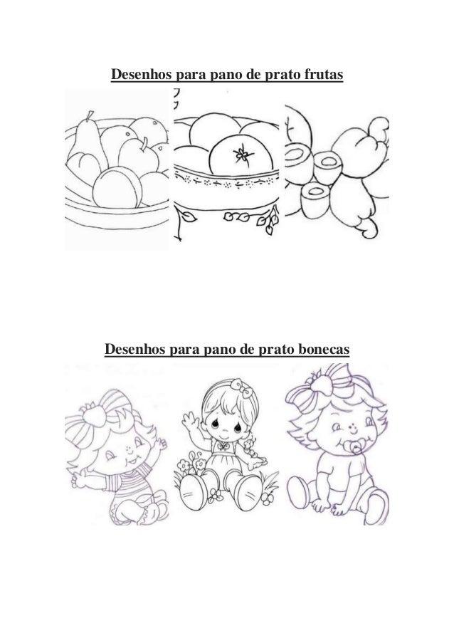 Desenhos Para Pano De Prato Para Imprimir