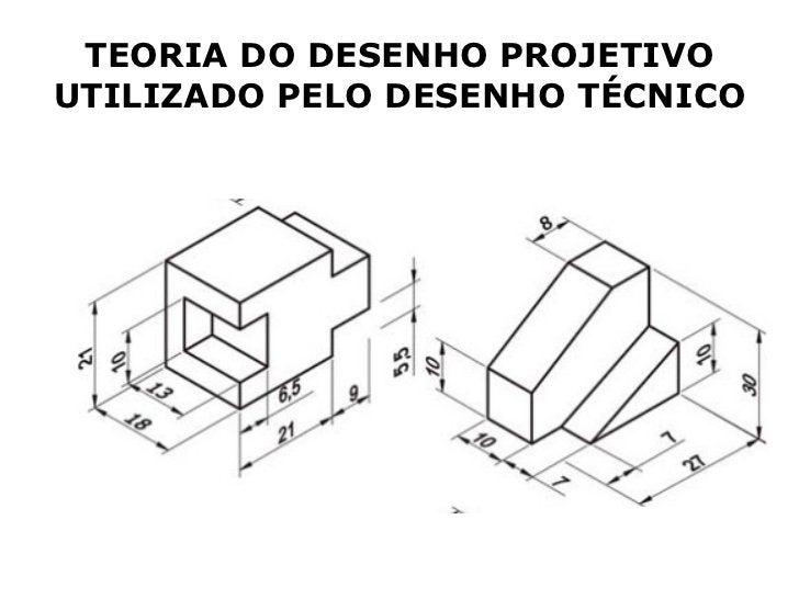 TEORIA DO DESENHO PROJETIVOUTILIZADO PELO DESENHO TÉCNICO
