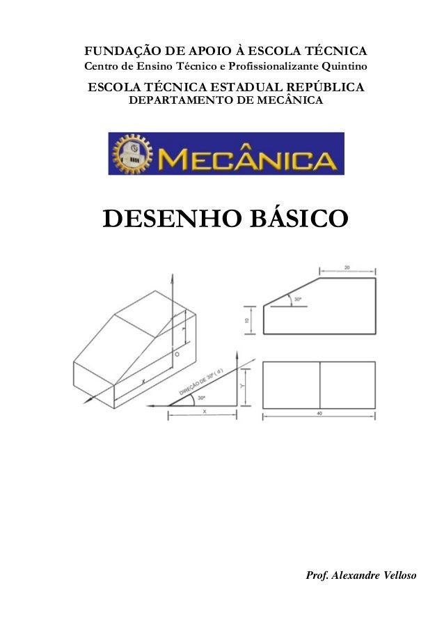 FUNDAÇÃO DE APOIO À ESCOLA TÉCNICA Centro de Ensino Técnico e Profissionalizante Quintino ESCOLA TÉCNICA ESTADUAL REPÚBLIC...