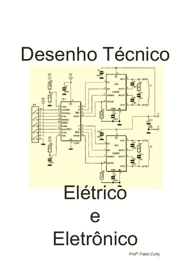 Desenho Técnico  Elétrico e Eletrônico Profº: Fabio Curty
