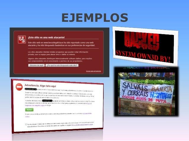 Desenmascara.me concienciación en seguridad para sitios web. Security awareness websites Slide 3