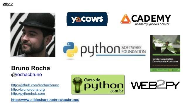 Desenvolvendo mvp com python Slide 2
