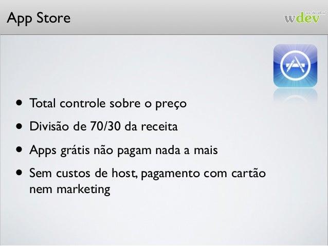 App Store A Apple tem que autorizar sua app