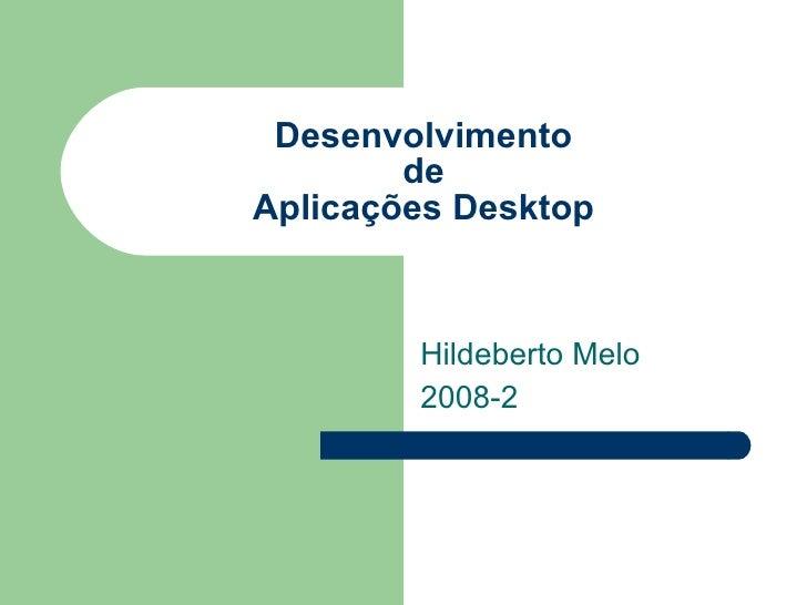 Desenvolvimento Delphi
