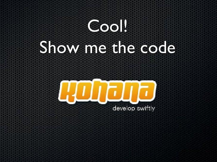 Instalando    Download em     http://kohanaframework.org/download/kohana-latest     Descompactar kohana-3.0.7.zip (versã...