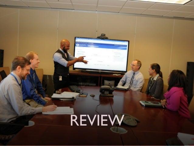 Review ‣ um momento onde o time de desenvolvimento interage com o PO e as pessoas que ele representa  ‣ o PO entende o qu...