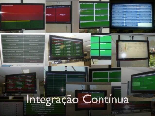 API de Busca  API de classificação, dados estatísticos  Integração com servidor de ADs  Plataforma Interna CMS  API deV...