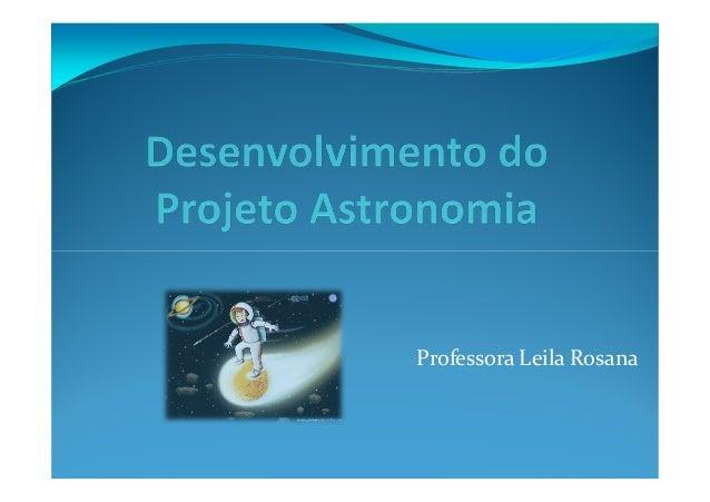 Professora Leila Rosana