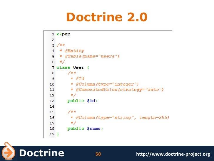 Doctrine 2.0