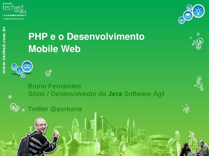 Desenvolvimento Mobile Web na TechEdBr