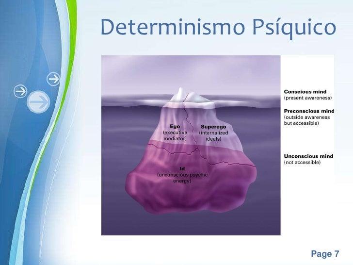Determinismo Psíquico  Powerpoint Templates                         Page 7
