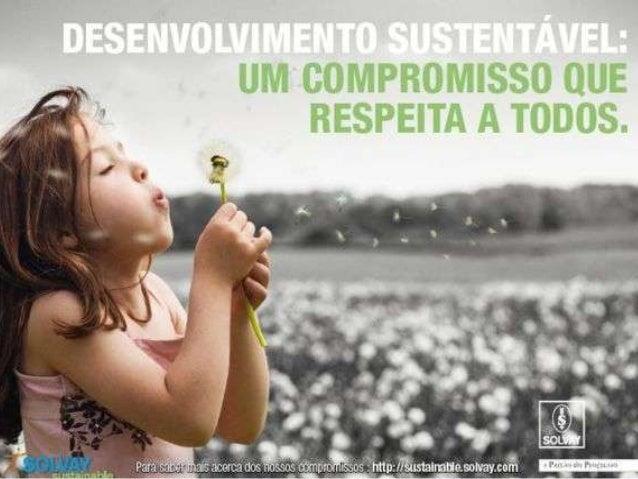 Sustentabilidade é a capacidade do ser humano de não agredir e infringir os recursos naturais. De modo que as áreas da:  ...