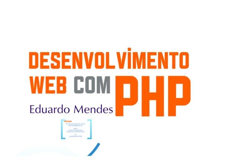 Desenvolvimento web com php parte1