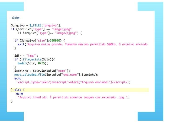 Desenvolvimento web com PHP parte 4