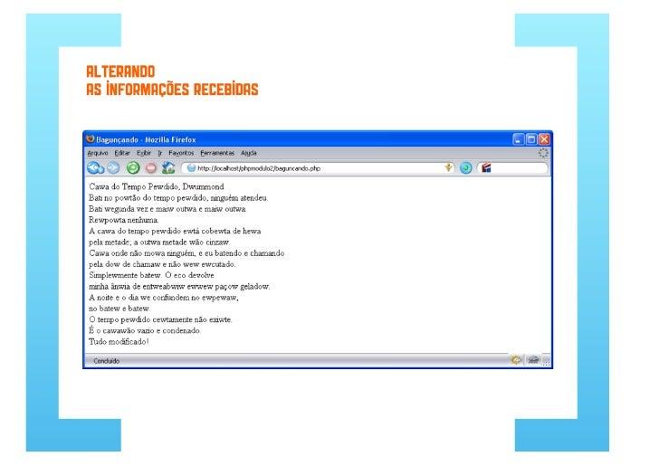 Desenvolvimento web com php parte 6