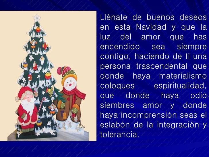 Deseos para esta navidad - Deseos para la navidad ...