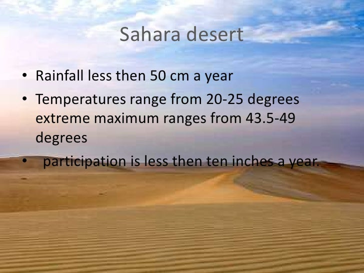 essay on desertifaction