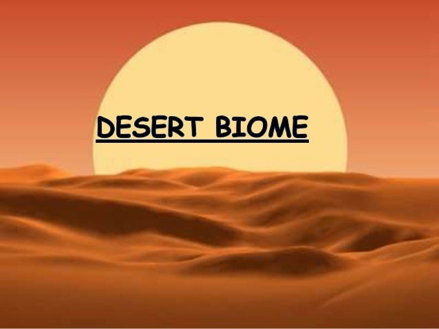 hot desert biome location