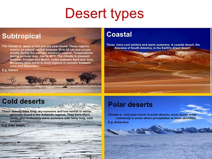 Desert Biomes