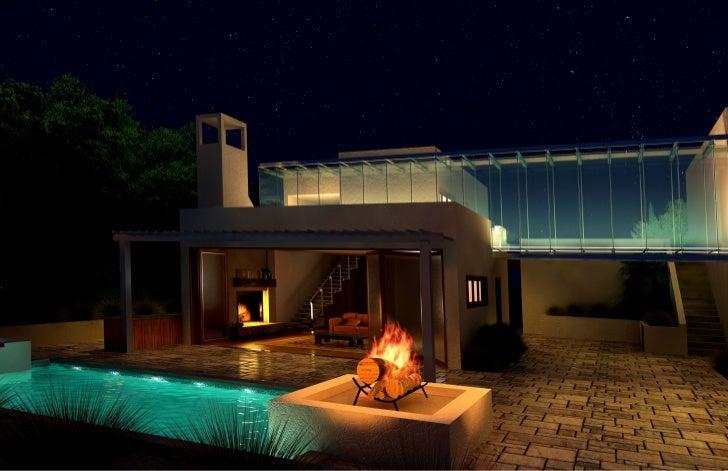 Desert House (Night)