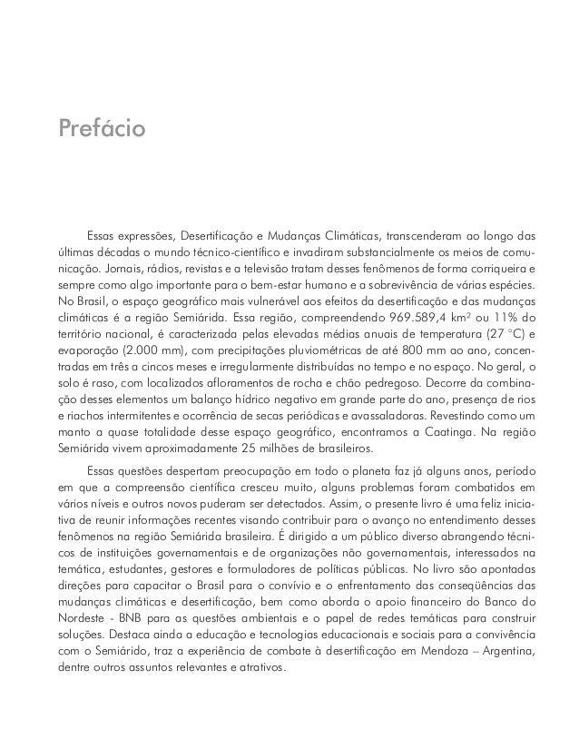 O Ministério da Ciência, Tecnologia e Inovação por meio do Instituto Nacional do Semiárido apóia esta publicação de forma ...