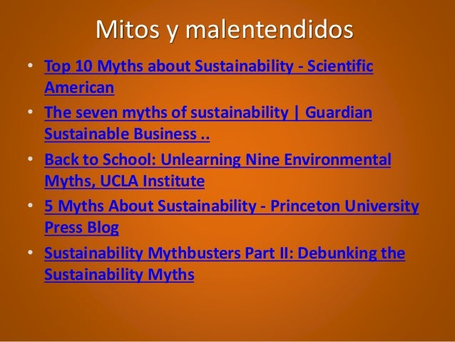top 10 myths about sustainability And, used responsibly, is inherently sustainable two sides  10 the myth only  recycled paper should be  the european paper industry is a leading recycler.
