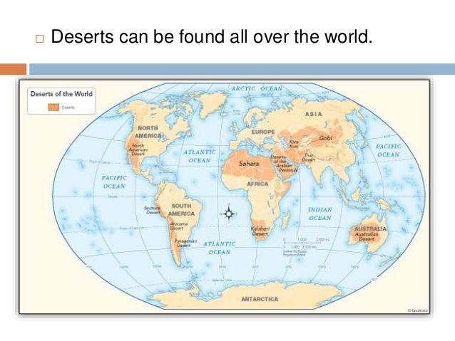 Deserts - All deserts