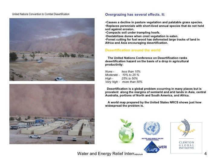 Deserts And Desertification The Causes And Consequences