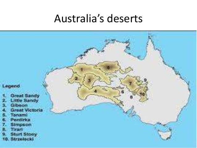 Deserts of Australia