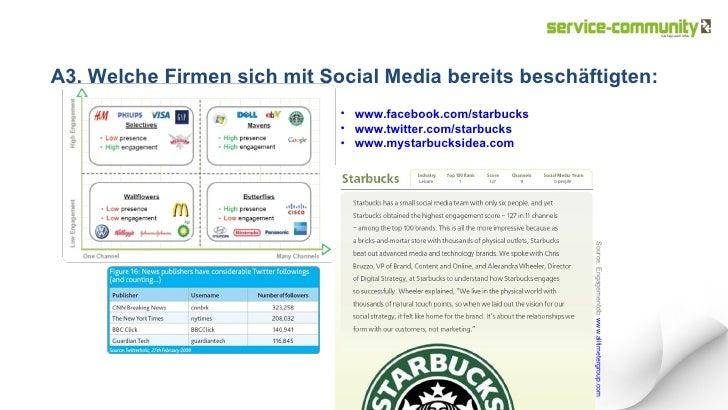 A3. Welche Firmen sich mit Social Media bereits beschäftigten: Source: Engagementdb:  www.alltimetergroup.com   <ul><ul><u...