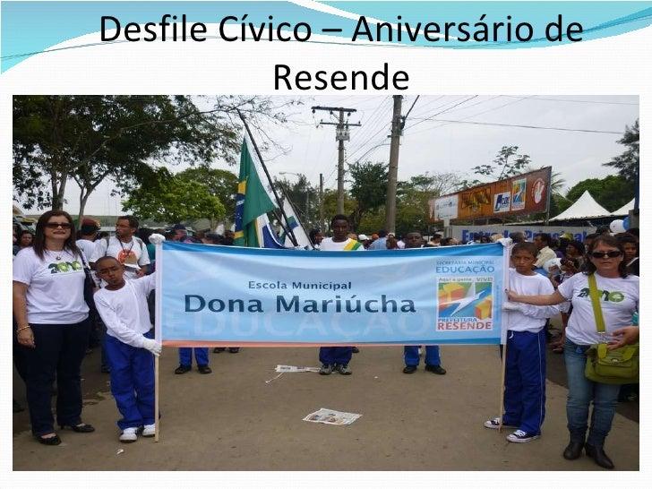 Desfile Cívico – Aniversário de Resende