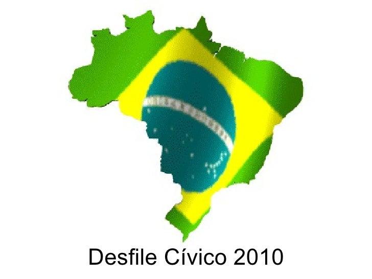 Desfile Cívico 2010