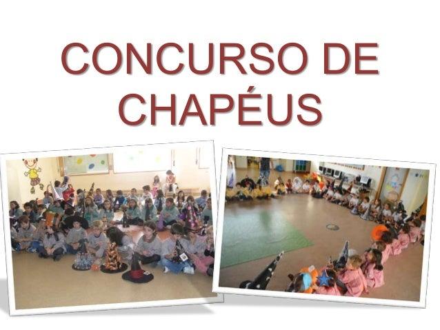 CONCURSO DE  CHAPÉUS