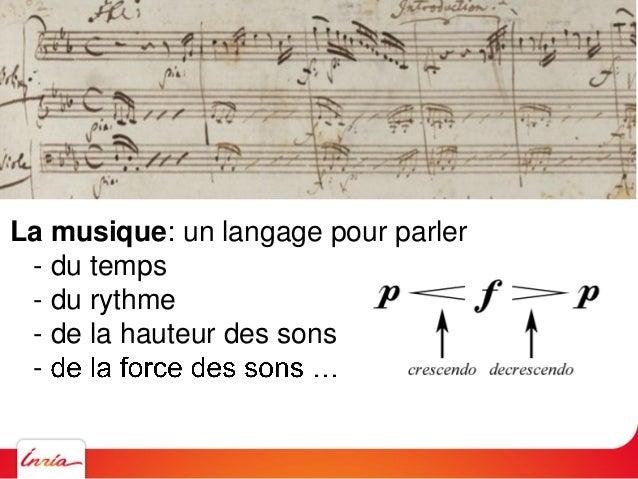 La physique: un langage pour parler - du temps
