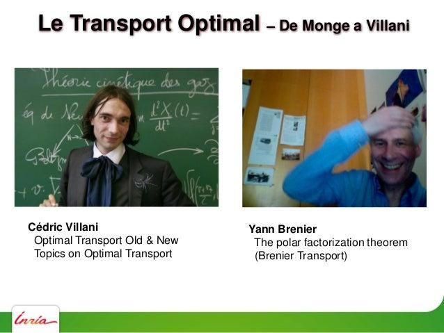 Le Transport Optimal Gaspard Monge - 1784 ANR TOMMI Workshop