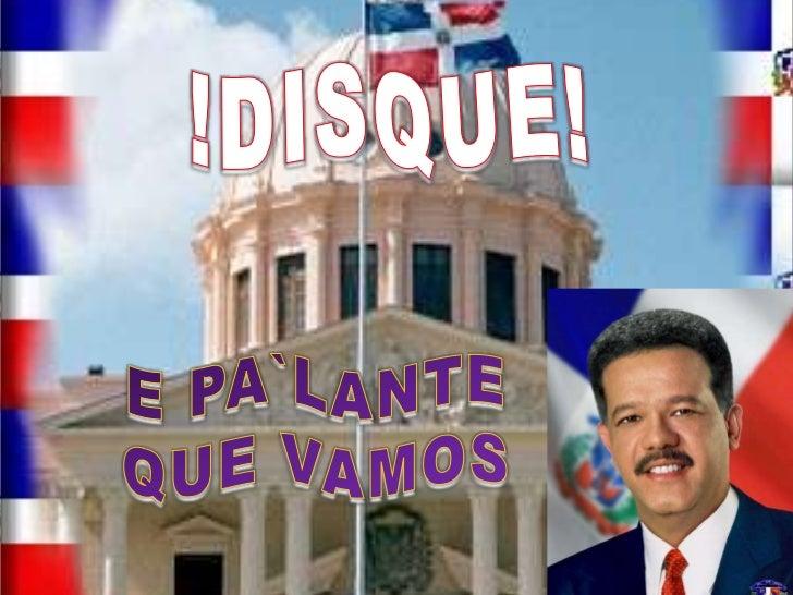 !DISQUE!<br />E PA`LANTEQUE VAMOS<br />