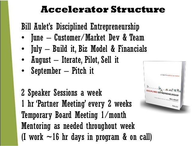 how to build a startup accelerator