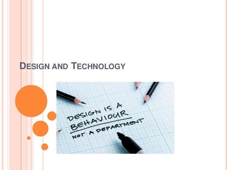 Design and Technology<br />