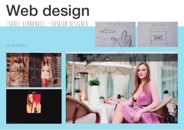 Isabel hernandez - fashion designer Web design WWW.ISABELHERNANDEZ.NET