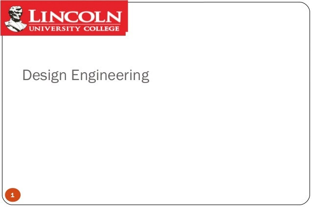 Design Engineering  1