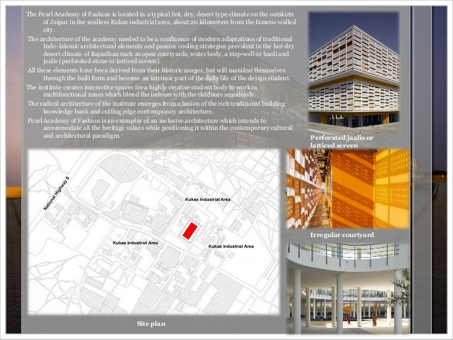 Concept Study Of Mahindra United World College Pune And Pearl Academy