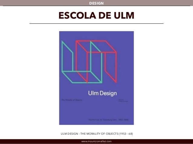 DESIGN  ESCOLA DE ULM  ULM DESIGN - THE MORALITY OF OBJECTS (1953 - 68)  www.mauriciomallet.com