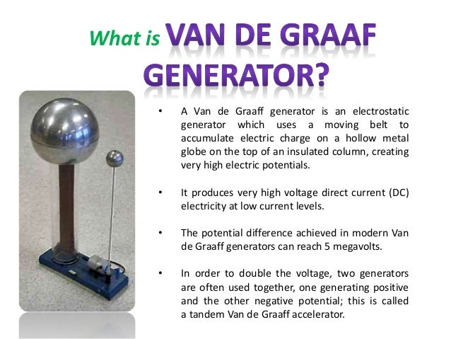 how to build a van de graaff generator